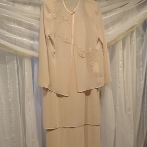 Mother of the bride or groom dress, pink sheet, 8